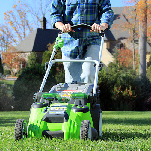 """GreenWorks 25302 20"""" Mower Review: Worth $ For 2 Blades?"""