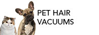 top 5 best vacuums for pet hair